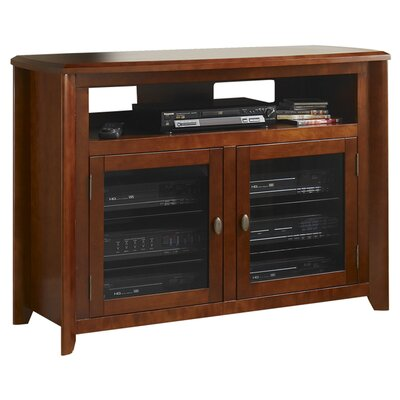 Hi-Boy 50 TV Stand Color: Walnut