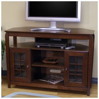 Veneto 46 TV Stand Color: Walnut Brown