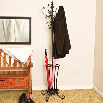 Coat Rack/Hall Tree with Umbrella Stand