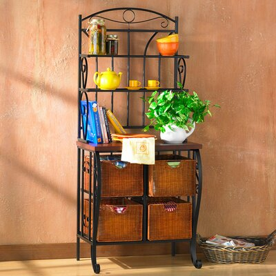 Arrington Storage Baker's Rack