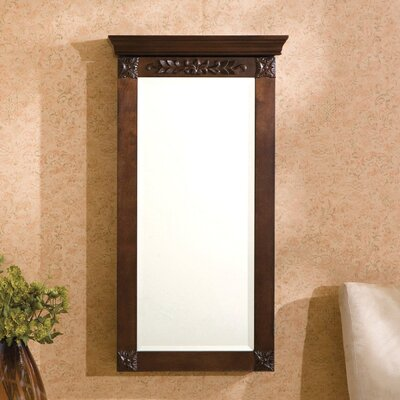 Horstman Wall Mount Jewelry Armoire with Mirror