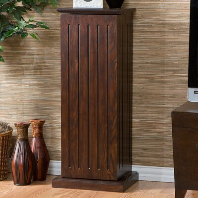 Storage Pedestal Multimedia Cabinet Finish: Espresso