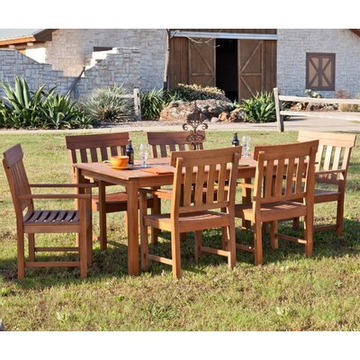 Dabney 7 Piece Dining Set