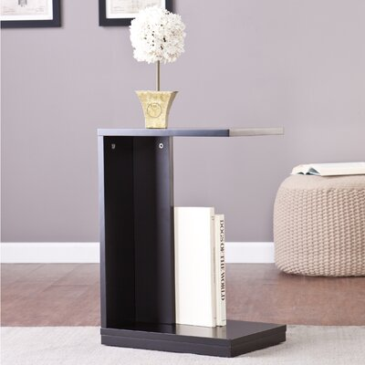 Holly and Martin End Table Color: Black