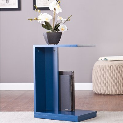 Holly and Martin End Table Finish: Navy