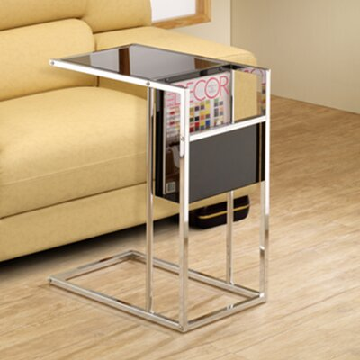 Christi End Table Finish: Black