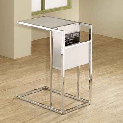 Christi End Table Finish: White