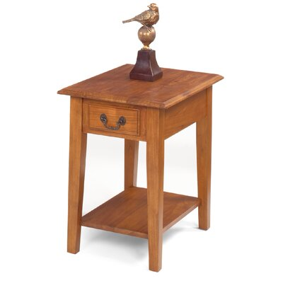 Buchholz End Table Color: Chestnut