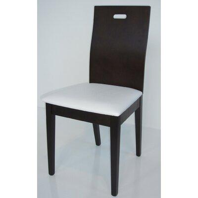Nova Side Chair Side Chair Finish: Coffee