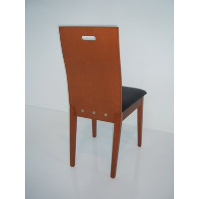 Nova Side Chair Side Chair Finish: Cherry
