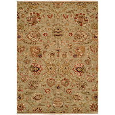 Farasan Hand-Woven Brown Area Rug Rug Size: Rectangle 5 x 7