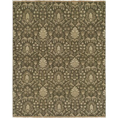 Timaru Light Brown Area Rug Rug Size: Round 10