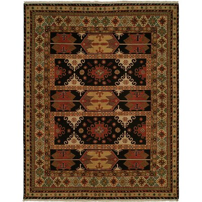 Tacoma Red/Beige Area Rug Rug Size: Rectangle 4 x 6