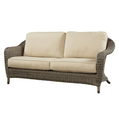 Sofa with Cushion Fabric: Flagship Mineral