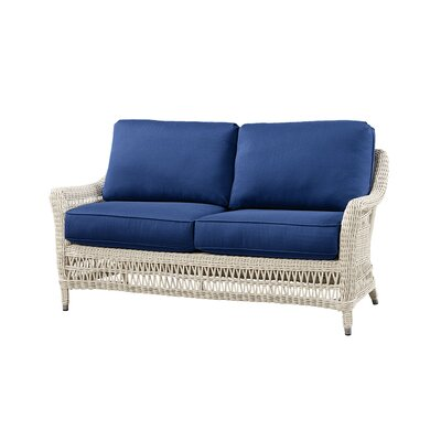 Sofa with Cushion Fabric: Flagship Mist
