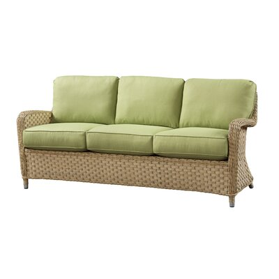 Sofa with Cushion Fabric: Canvas Granite