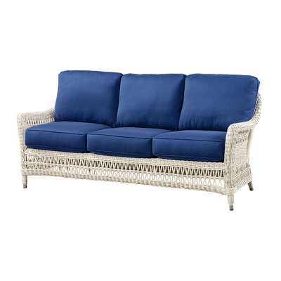 Sofa with Cushion Fabric: Flagship Vellum