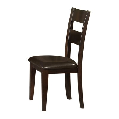 Side Chair (Set of 2) Side Chair Finish: Dark Cherry