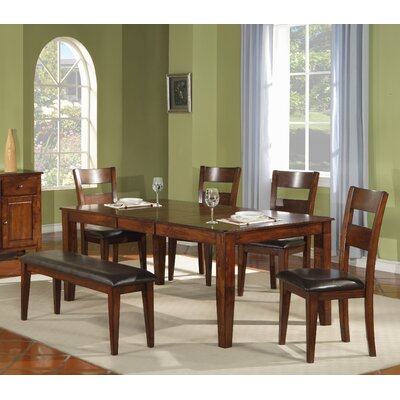 Extendable Dining Table Table Finish: Light Cherry