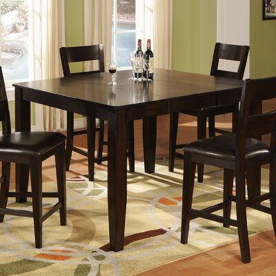 Counter Height Dining Table Table Finish: Dark Cherry