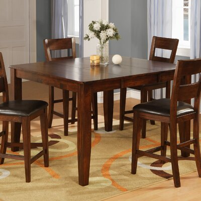 Counter Height Dining Table Table Finish: Light Cherry