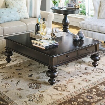 Paula Deen Home Put Your Feet Up Coffee Table with Lift Top Color: Tobacco