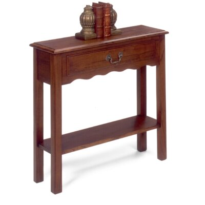 Console Table Finish: Chestnut