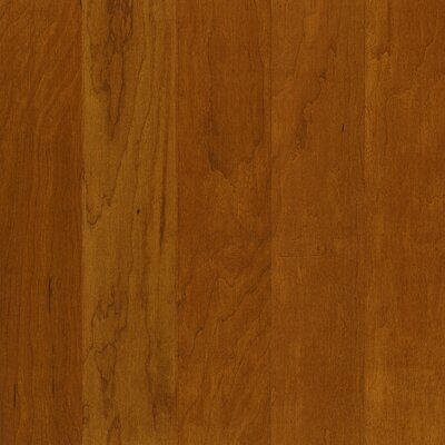 5 Engineered Cherry Hardwood Flooring in Woodside Brown