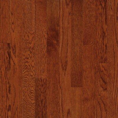 2-1/4 Solid White Oak Hardwood Flooring in Amber