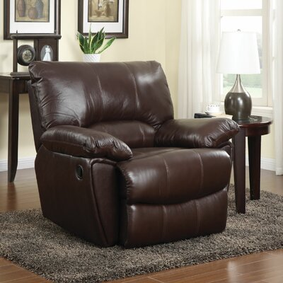 Red Bluff Leather Recliner