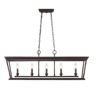 Dennisport 5-Light Kitchen Island Pendant