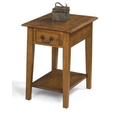 Buchholz End Table Color: Medium Oak