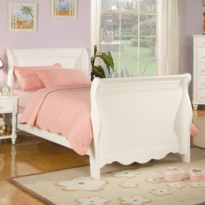 Plymouth Youth Sleigh Bed Size: Full