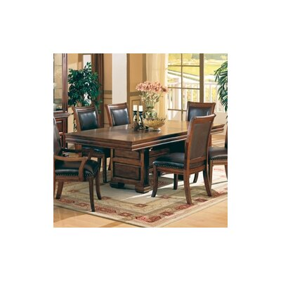 Wildon home westminster raised panel dining table in for Wildon home dining