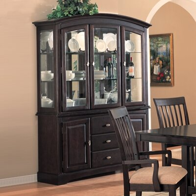 Cheap Wildon Home Sunset Hutch and Buffet Set in Cappuccino (CST1872)