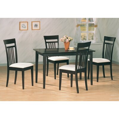 Cheap Wildon Home West Hollywood Dining Set in Cappuccino (CST1959)