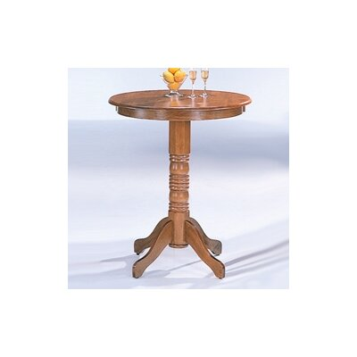 Easy financing McCoy Bar Table in Oak...