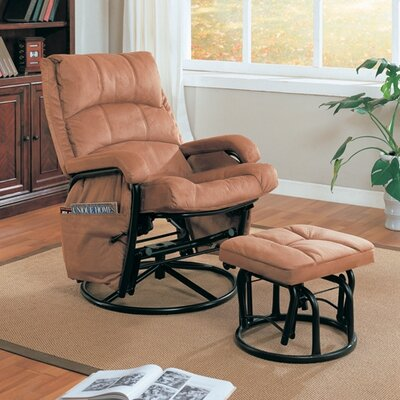 Wildon Home Goble Glider Rocker and Ottoman at Sears.com
