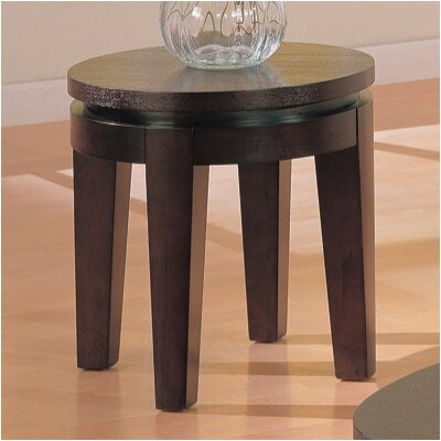 Cheap Wildon Home Biggs End Table in Dark Coffee (CST3085)