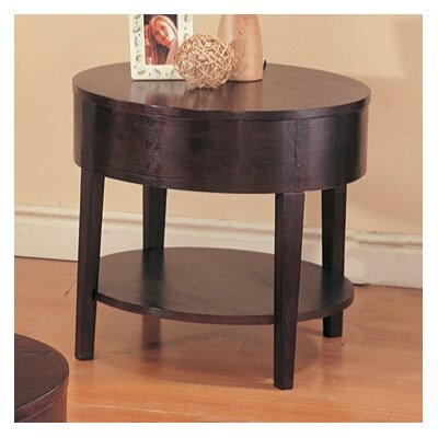 Buy Low Price Wildon Home Streetman Chairside Table In Cappuccino Cst9461