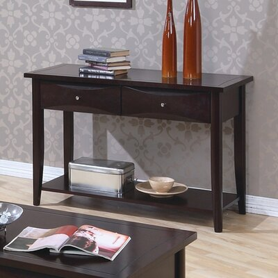 Cheap Wildon Home Calimesa Sofa Table with Storage Drawers in Cappuccino (CST3127)