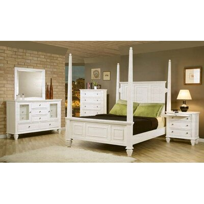 Horton Four Poster Configurable Bedroom Set
