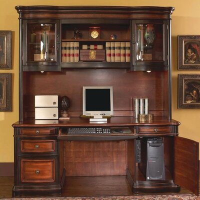 Corona Computer Desk with Hutch Product Picture 168