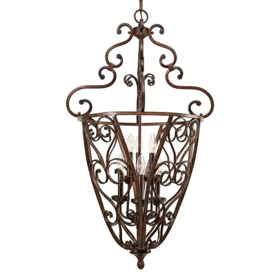 Fortier Caged Foyer Pendant