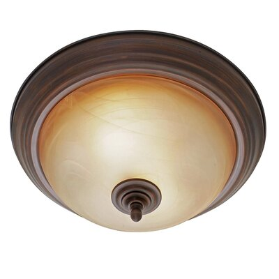 Cairnbrook 2-Lights Flush Mount