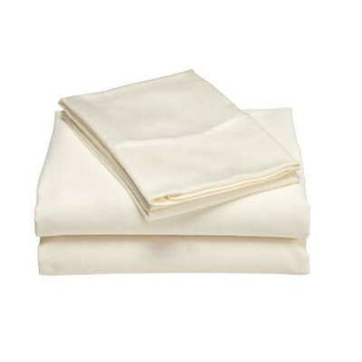 Wildon Home 300 Thread Count Wrinkle Resistant Sateen Sheet Set - Size: Queen, Color: White at Sears.com