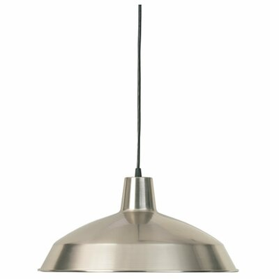 Conover 1-Light Mini Pendant Finish: Satin Nickel