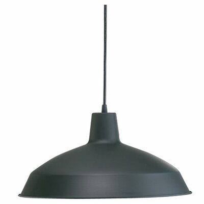 Studio 1-Light Mini Pendant Finish: Matte Black