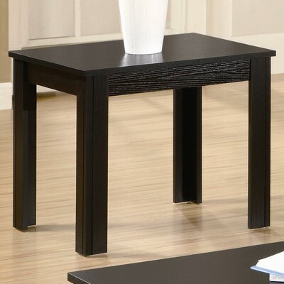 Winslow 3 Piece Coffee Table Set Finish: Black