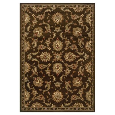 Harper Brown/Green Area Rug Rug Size: Rectangle 110 x 210